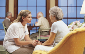 Professional Caregivers Seniors Elderly